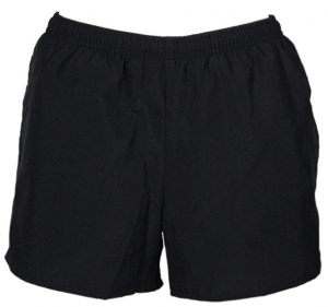 ASICS Women's Pocketed Black Running Shorts