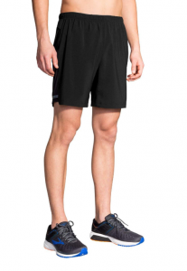 Brooks Men's Sherpa 2-in-1 7 Inch Shorts