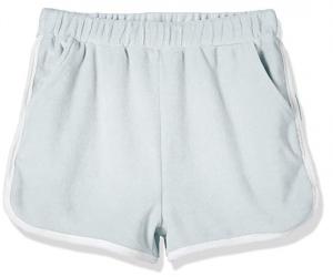 Kid Nation Girls' Elastic Sport Retro Shorts