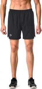 Naviskin Men's 5 inch Quick Dry Running Shorts