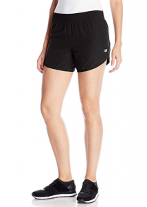 New Balance Women's Accelerate Black Running Shorts