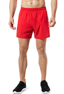 TSLA Men's 5 inches Zipped Pocket Lightweight Running Shorts