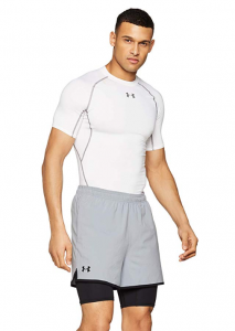 Under Armour Men's Qualifier 2-In-1 Shorts