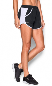 Under Armour Women's Fly-By Black Running Shorts