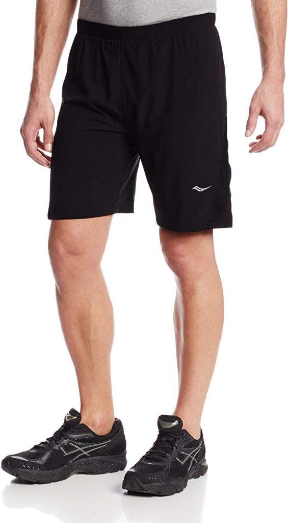 Saucony Men's interval running shorts