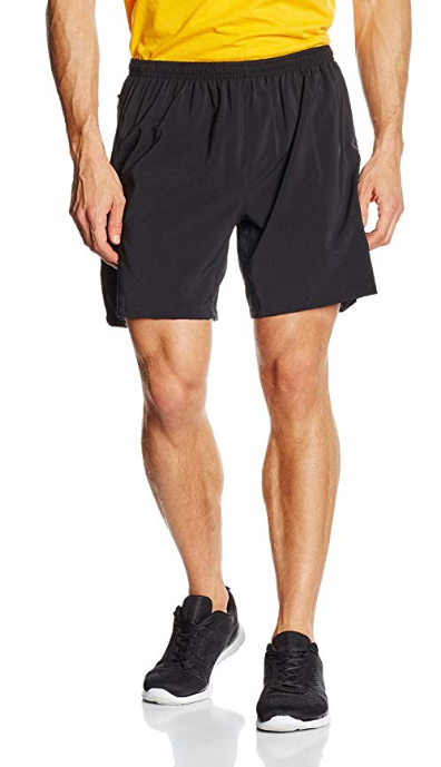 Brooks Mens Sherpa IV Seven Inch Shorts Black