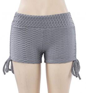 Makaor Summer Pants Women Sports Shorts Gym Workout Waistband Skinny Yoga Short Pants