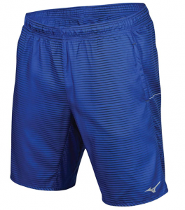 Mizuno Running Men's Geo Print 8.5 Shorts