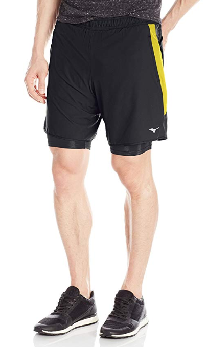 Mizuno Running Men's Kyori 2-N-1 7.5 Shorts