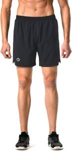 Naviskin Men's 5 Quick Dry Running Shorts