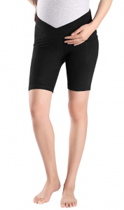 Foucome maternity shorts